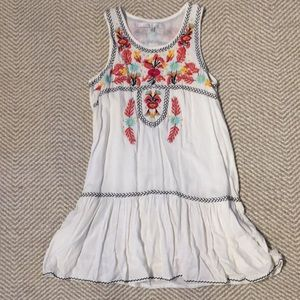 "Lovers+Friends ""I Heart Babydoll Embroidered Dress"